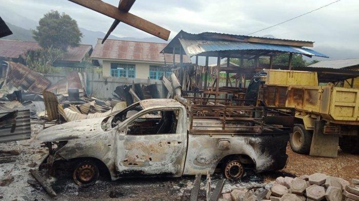Hendrik Terjebak Dalam Ruko yang Dibakar Sekelompok Orang di Dogiyai Papua