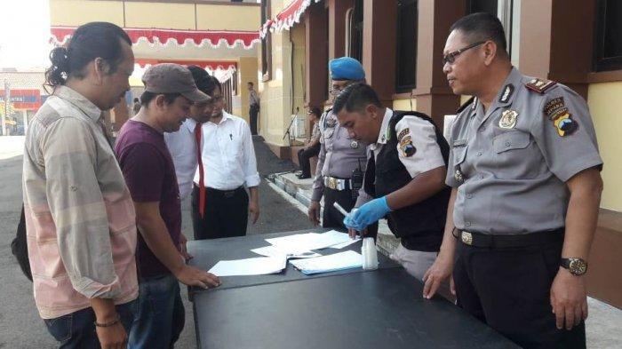 Propam Polda Jateng Gelar Tes Urine Dadakan di Polres Jepara