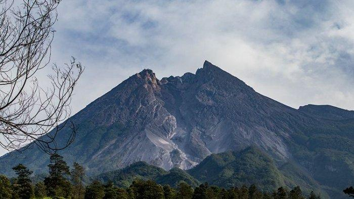 Laju Penggembungan Tubuh Gunung Merapi Kini12 Sentimeter Per Hari, Intensitas Guguran Naik