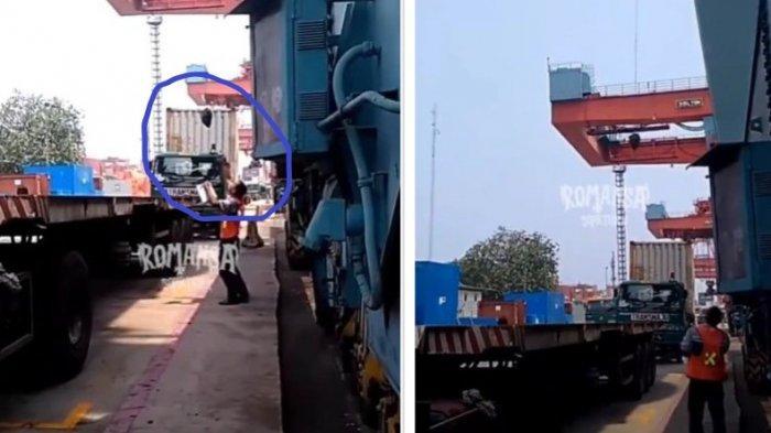 Modus Pungli di Pelabuhan Peti Kemas Tanjung Priok Pakai Kresek Hitam, Netizen Murka