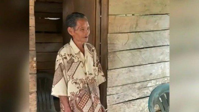 Viral Kakek Beddu Punguti Ceceran Beras di Jalan untuk Dikonsumsi, Hidup Sebatang Kara, Ini Kisahnya