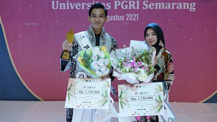 Tanda Dewi Purnasari Jadi Putri Kampus UPGRIS 2021
