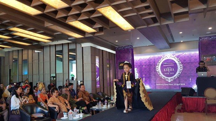 Quest Hotel Semarang Gelar Festival Kebaya Dan Batik Indonesia Tribun Jateng