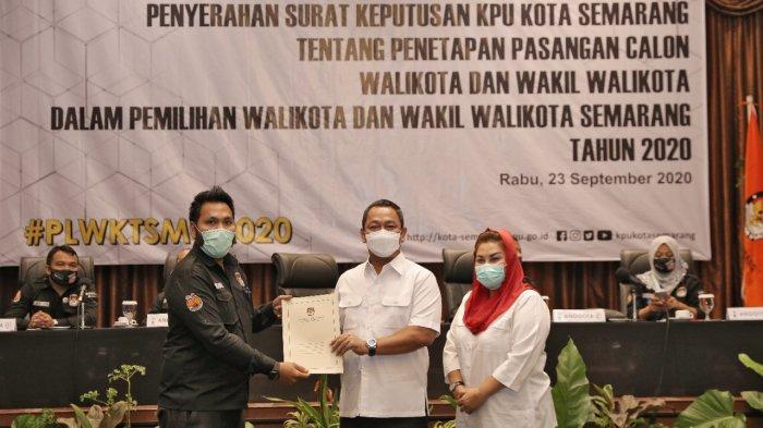KPU Tetapkan Hendi-Ita Tetap Pimpin Kota Semarang Hingga 2024