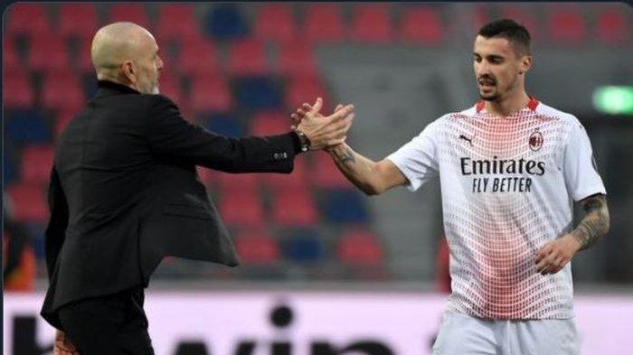 Prediksi Susunan Pemain AC Milan Vs Benevento Serie A Liga Italia, Pioli Beri Wejangan Pemainnya