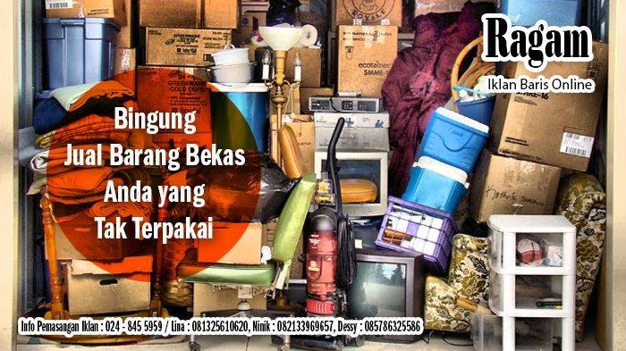 Jual Furniture, Elektronik Bekas dan Baru Semarang serta Iklan Kehilangan Sabtu 20 Maret 2021