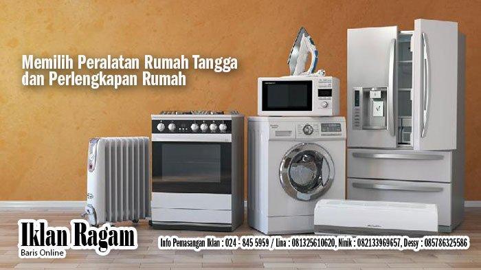 Jual Furniture, Elektronik Bekas dan Baru Semarang serta Iklan Kehilangan Rabu 14 April 2021