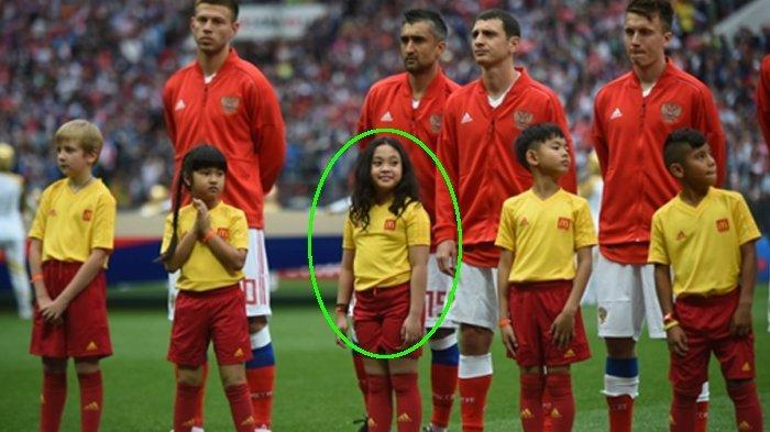 Inilah Sosok Duta Cilik Asal Indonesia di Piala Dunia Rusia