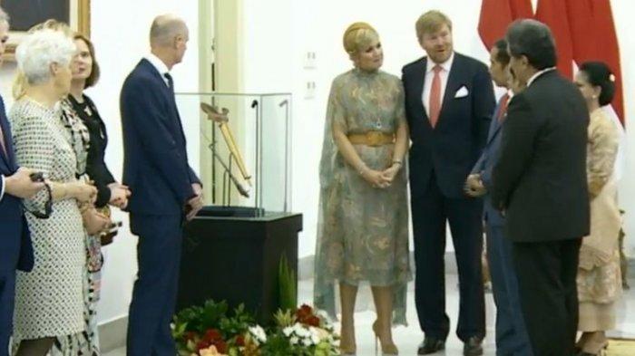 Keris Pangeran Diponegoro Kembali ke Indonesia, Raja Belanda Serahkan kepada Jokowi
