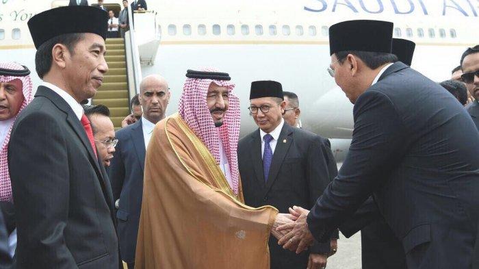 Foto Ahok Bersalaman dengan Raja Salman Ramai Tersebar di Media Sosial