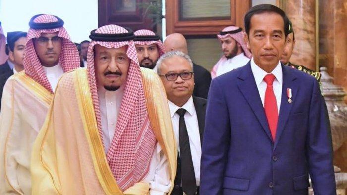 Jokowi KirimUcapan Selamat Idul Adha pada Raja Salman Arab Saudi: Syukur Baginda Telah Pulih