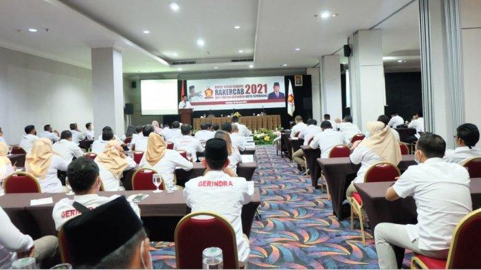 DPC Partai Gerindra Kota Semarang menggelar Rapat Kerja Cabang (Rakercab) 2021 selama dua hari mulai 5-6 Juni 2021.