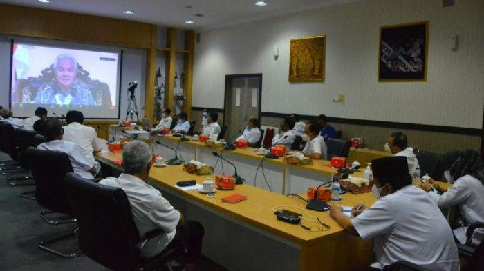 Pejabat Pemkab di Purbalingga Ikuti Rakor Virtual Bersama KPK: Ingatkan Modus Korupsi Kepala Daerah