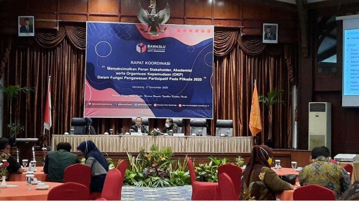 Pemantau Pemilu Pilwakot Semarang 2020 Sepi Peminat, Bawaslu Dorong KPU Lakukan Sosialisasi Masif