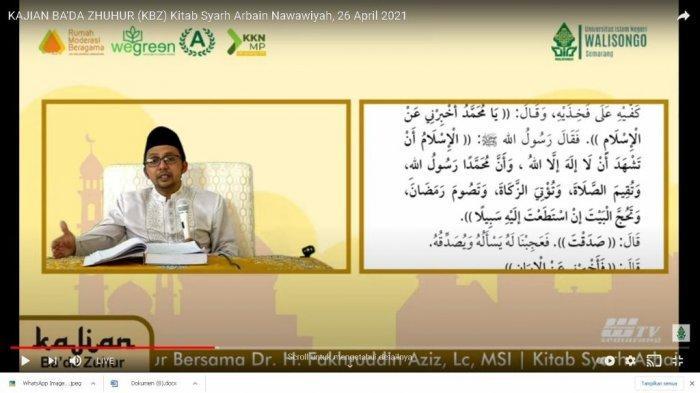 Ramadhan di UIN Walisongo Semarang, Ada Kajian Kitab Arbain Nawawi