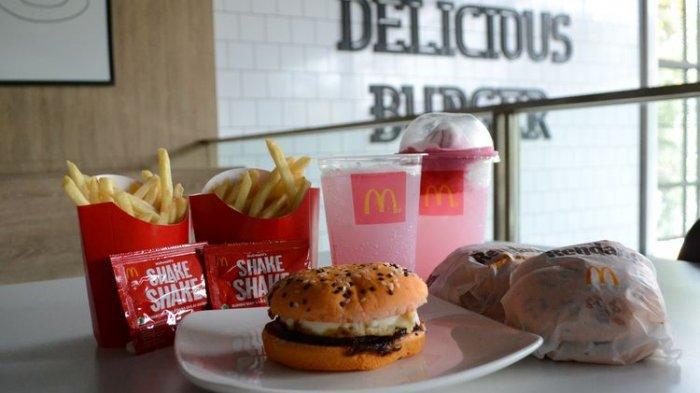 Menu Baru McDonald's Agustus 2021, Burger Rendang dan Kentang Gulai, Cek Harganya