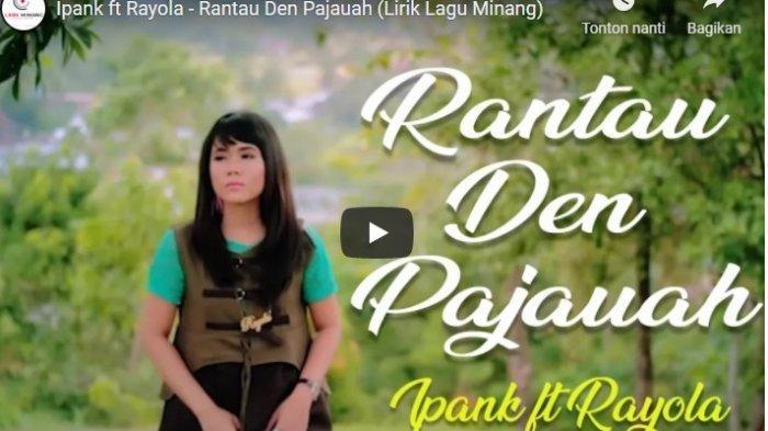Chord Kunci Gitar dan Lirik Lagu Rantau Den Pajauah Ipank Feat Rayola