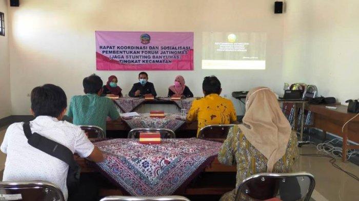 Dinsospermades Banyumas Bentuk Forum Jaga Stunting Banyumas, Dua Kecamatan Dijadikan Pilot Project