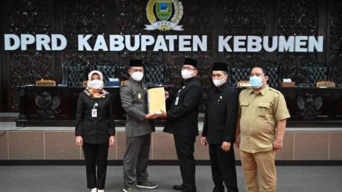 Perubahan APBD Kebumen 2021 Disahkan, Pendapatan Daerah Turun