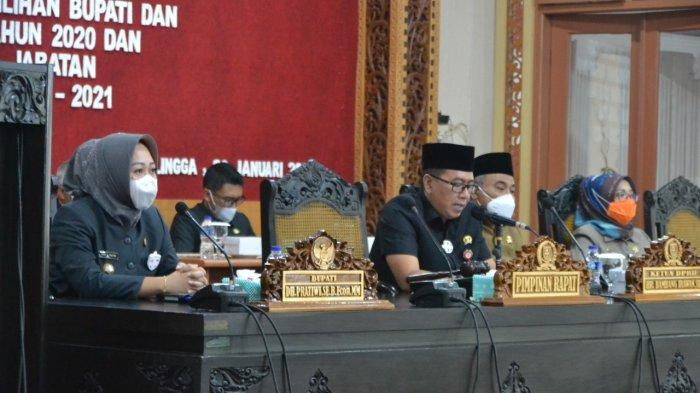 Jabatan Bupati Purbalingga Periode 2016 - 2021 Berakhir 17 Februari, Tiwi: Tetap Kerja Kerja Kerja