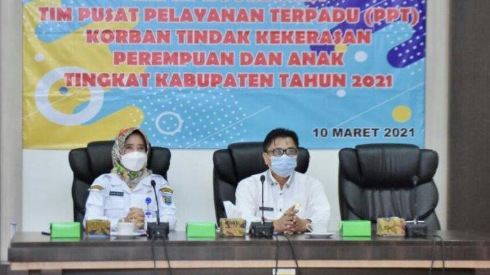 Jumlah Kasus Kekerasan Terhadap Perempuan dan Anak Tahun 2020 di Kabupaten Tegal Menurun