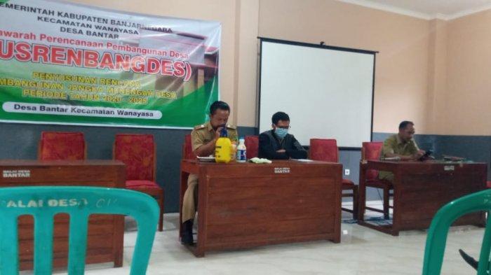 Kesigapan Pemerintah Desa Bantar Wanayasa Banjarnegara Cegah Virus Corona Masuk ke Wilayahnya