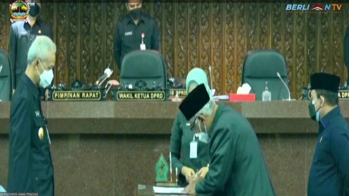 DPRD Jawa Tengah Setujui Raperda Pertanggungjawaban Pelaksanaan APBD Tahun 2020