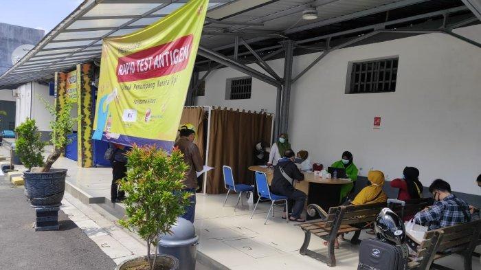.PT KAI Daop 4 Semarang Buka Pelayanan Rapid Test Antigen di Stasiun Pekalongan