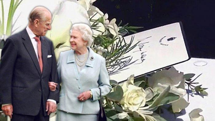 Surat Ratu Elizabeth II di Atas Peti Mati Pangeran Philip: Aku Mencintaimu