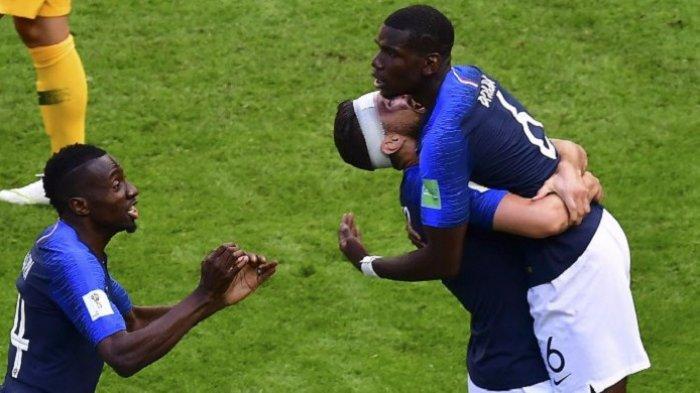 Final Piala Dunia 2018 - Pogba Perbesar Keunggulan Prancis Atas Kroasia