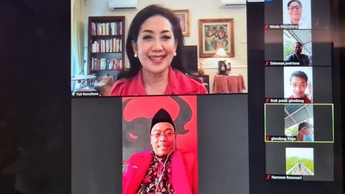 Rayakan HUT PDI Perjuangan, Tuti Roosdiono Ajak Kader Gotong Royong