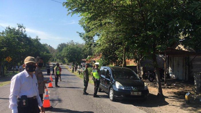 Polisi Nemu Orang Positif Corona Masuk Wonogiri, Kendaraan Luar Kota Wajib Putar Balik