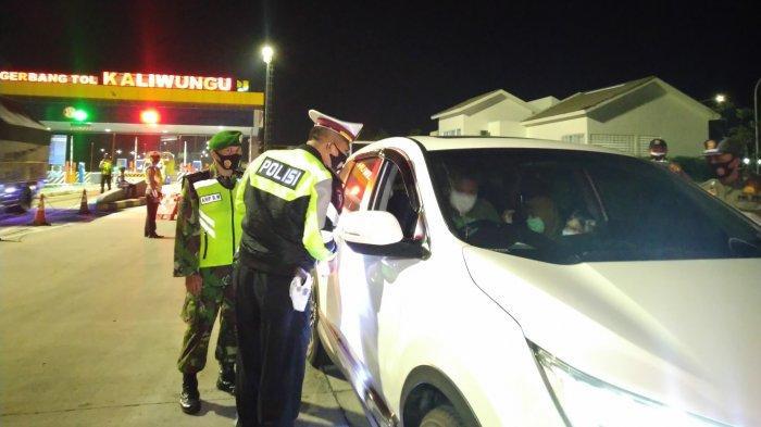 Satlantas Polres Kendal Tambah Titik Penyekatan di Perbatasan Kabupaten