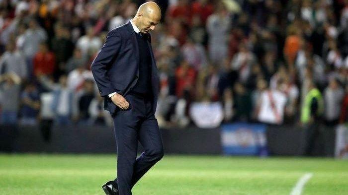 Kabar Duka Zidane Diumumkan di Laman Resmi Real Madrid
