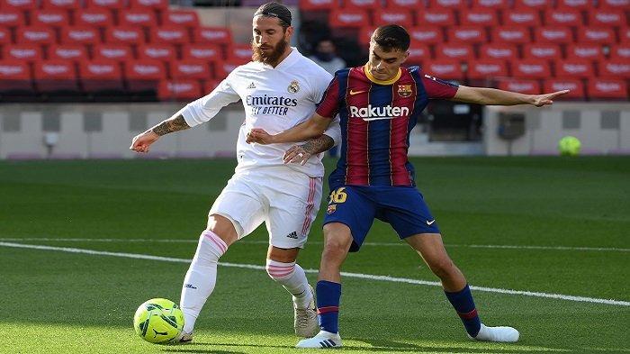 Link Live Streaming El Clasico, Jadwal Real Madrid vs Barcelona, Messi Kenakan Jersey Khusus