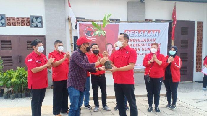 PDIP Kota Semarang Kembali Lakukan Penghijauan