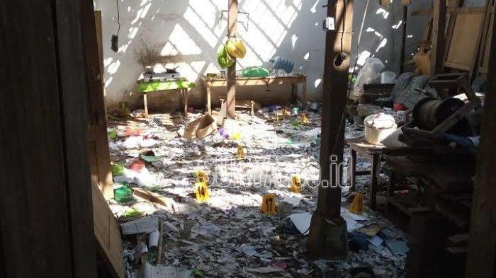 Mercon untuk Lebaran Meledak, 2 Remaja Tewas 7 Luka-luka, Rumah Nyaris Roboh