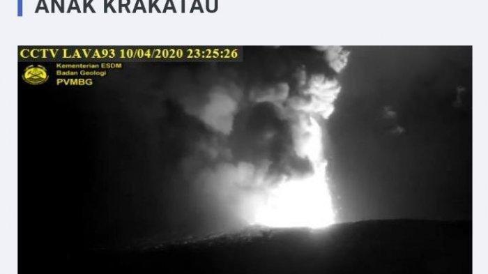 Saya Takut Sampai Enggak Bisa Tidur, Kata Warga Bogor Dengar Letusan Gunung Anak Krakatau