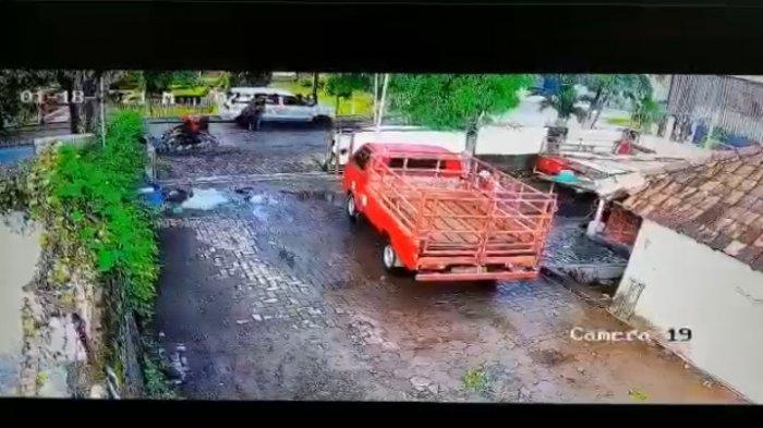 Rekaman CCTV terjadinya perampokan di Jalan Krakatau Semarang