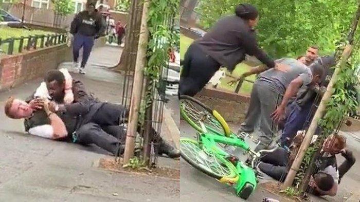Lihat Polisi Diserang di Pinggir Jalan, Pria Ini Bukannya Bantu Malah Berfoto Selfie