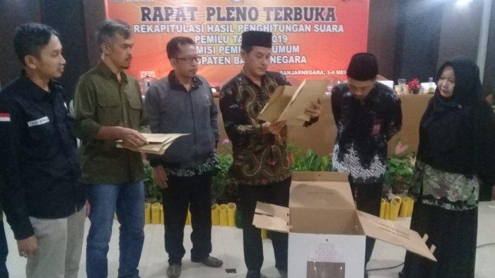 Pemilu 2019 di Kabupaten Banjarnegara Berjalan Aman Tanpa Gejolak, Bupati Beri Apresiasi