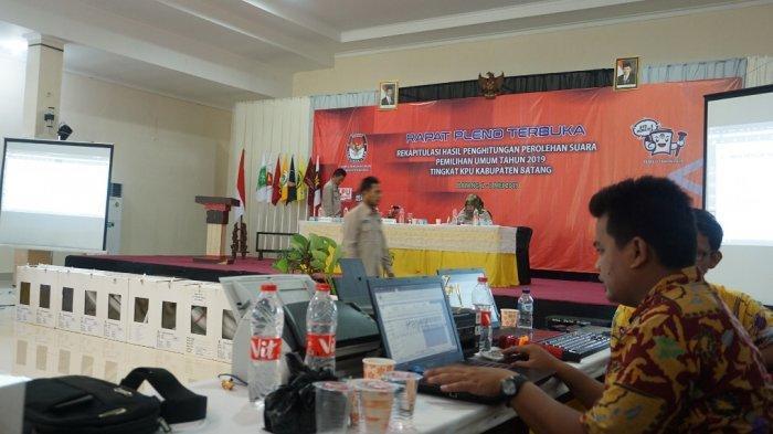 Pleno Rekapitulasi Suara Pemilu Kabupaten Batang Ditarget Selesai Besok, Total Rekap 15 Kecamatan