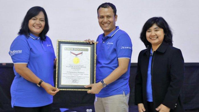 Mydoctor Pertamina Raih Rekor MURI, Iin : Tingkat Kecelakaan Mobil Tangki Turun Signifikan 50 Persen