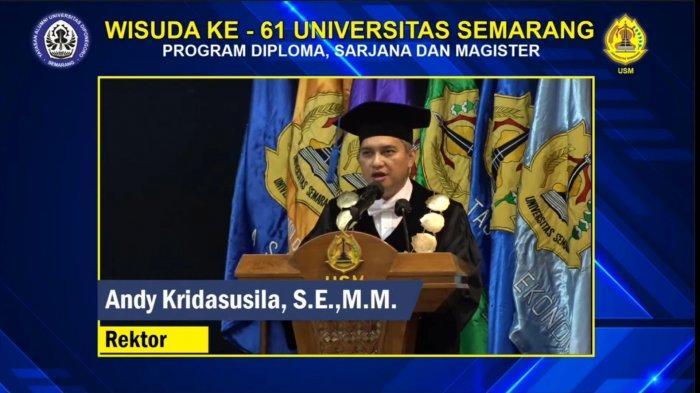 USM Semarang Mewisuda 1.573 Lulusan pada Upacara Wisuda Ke-61