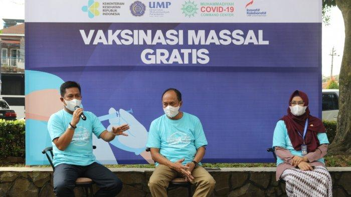 Kampus Kemanusiaan, UMP Purwokerto Gelar Vaksinasi Massal untuk Lintas Agama