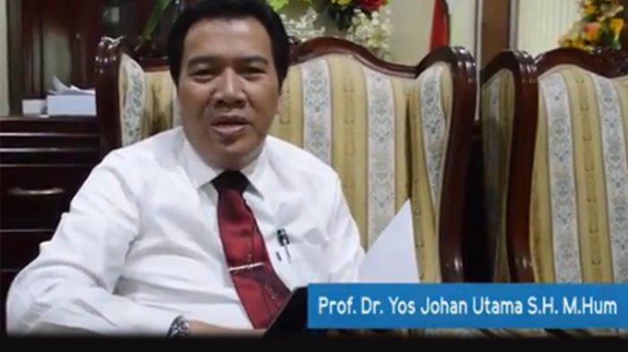 Yos Ingin Kumpulkan Rektor se-Indonesia Bahas Soal Radikalisme