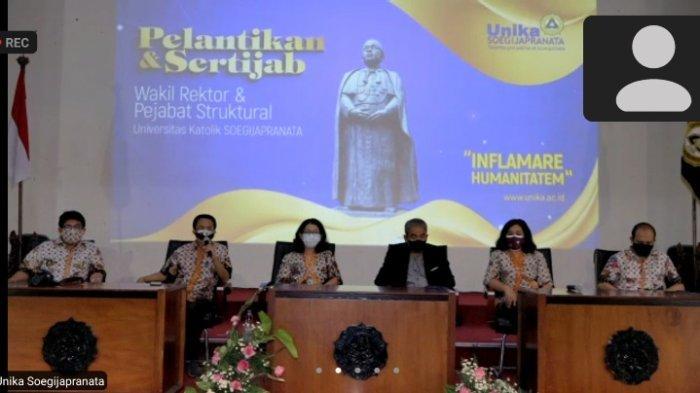 Wakil Rektor Baru Unika Soegijapranta Semarang Dilantik, Inovasi Riset dan Publikasi Dikembangkan