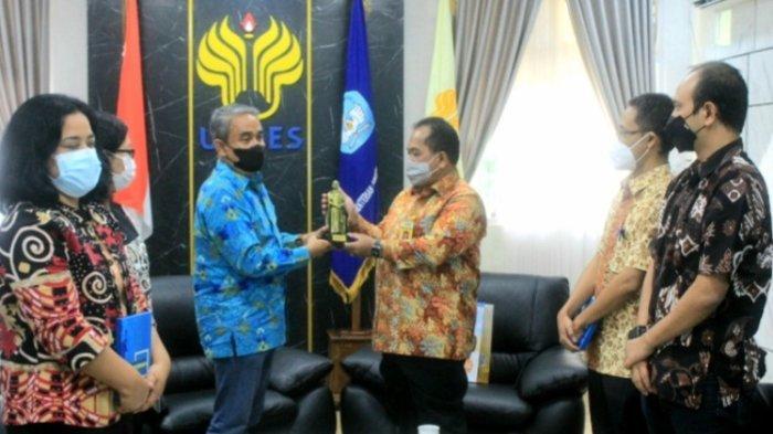 Rektor Unika Semarang Silaturahim ke Unnes, Singgung Peluang Kerja Sama Riset dan Penelitian