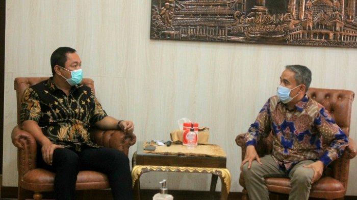 Pesan Wali Kota Hendi ke Rektor Baru Unika: Saya Dedikasikan Kota Semarang sebagai Laboratorium