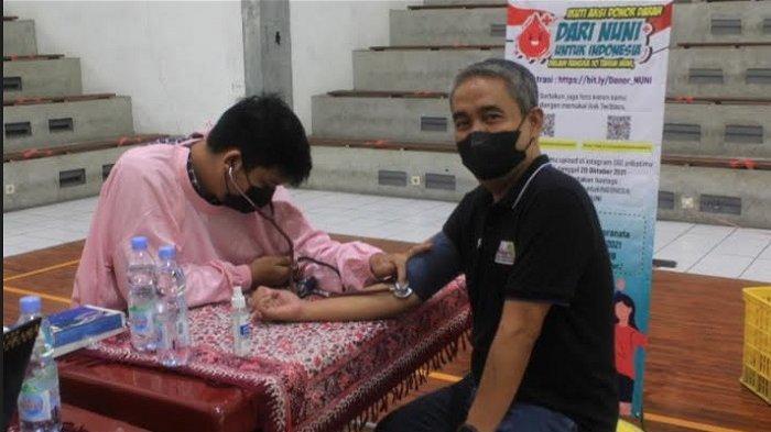 Peringati 10 Tahun Nationwide University Network Indonesia, Unika Gelar Donor Darah